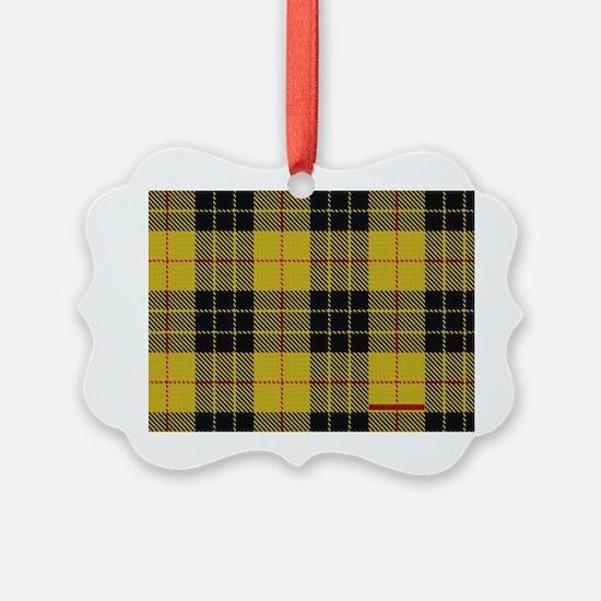 McCleod McCloud Tartan Plaid Ornament