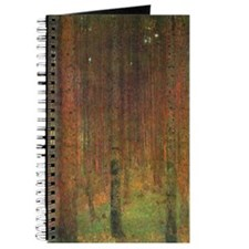 Gustav Klimt Tannenwald II Journal