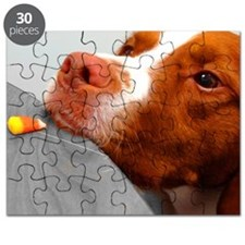 Candy corn dog Puzzle