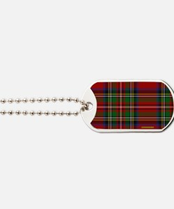 Stewart Tartan Plaid Dog Tags