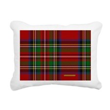 Stewart Tartan Plaid Rectangular Canvas Pillow