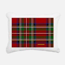 Stewart Tartan Plaid Rectangular Canvas Pillow