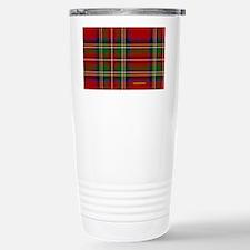 Stewart Tartan Plaid Travel Mug