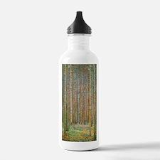 Gustav Klimt Pine Fore Water Bottle
