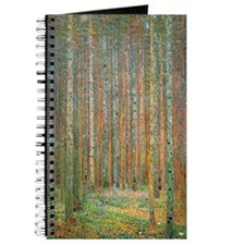 Gustav Klimt Pine Forest Journal