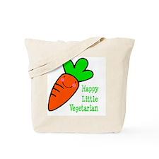 Happy Little Vegetarian Tote Bag