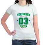 Statehood New Jersey Jr. Ringer T-Shirt