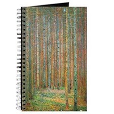 Gustav Klimt Pine Forest Journal
