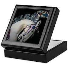 Carorsel Horses Keepsake Box