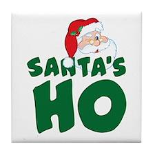 Santa's Ho Tile Coaster