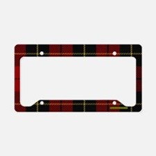 Wallace Tartan Shoulder Bag License Plate Holder