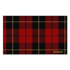 Wallace Tartan Shoulder Bag Decal