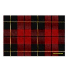 Wallace Tartan Shoulder B Postcards (Package of 8)