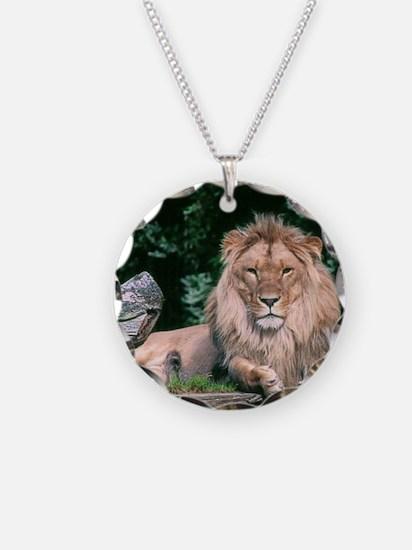Lazy Lion Necklace