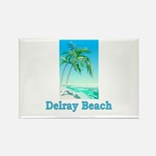 Delray Beach, Florida Rectangle Magnet