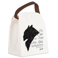 Team Jacob Canvas Lunch Bag