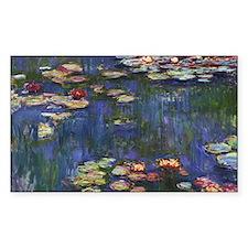 Claude Monet Water Lilies Decal