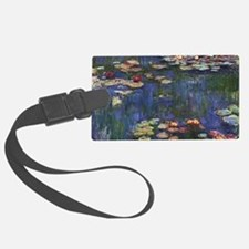 Claude Monet Water Lilies Luggage Tag