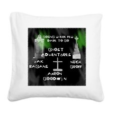 Going Ghost Adventures l3 Square Canvas Pillow