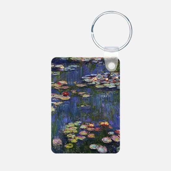 Claude Monet Water Lilies Keychains