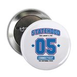 Statehood Connecticut Button