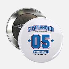 Statehood Connecticut Button