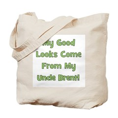 Good Looks from Uncle Brent Tote Bag