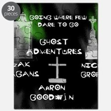 Going Ghost Adventures  Curtain Puzzle