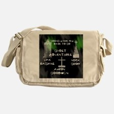 Going Ghost Adventures  Curtain Messenger Bag