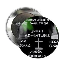 """Going Ghost Adventures  Curtain 2.25"""" Button"""