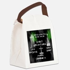 Going Ghost Adventures  Curtain Canvas Lunch Bag
