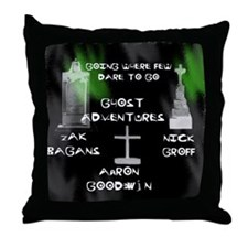 Going Ghost Adventures  Curtain Throw Pillow