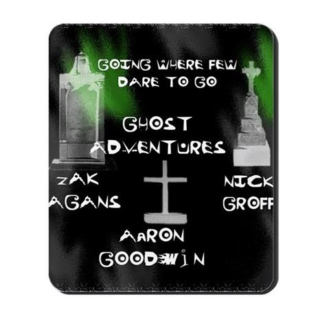 Going Ghost Adventures Curtain Mousepad