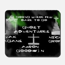 Going Ghost Adventures lg Mousepad