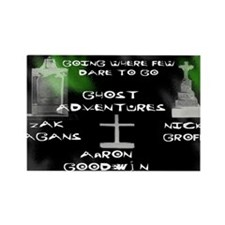 Going Ghost Adventures lg Rectangle Magnet