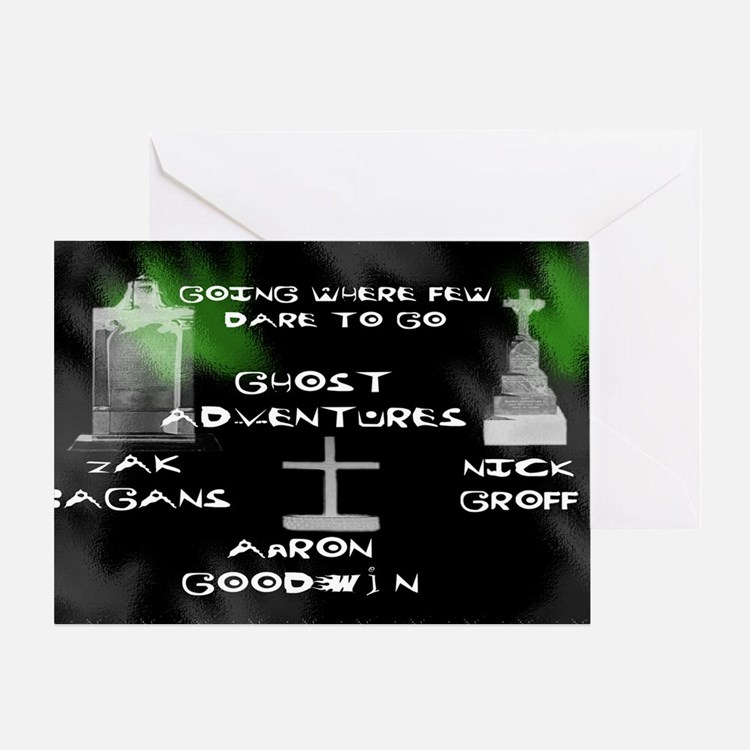 Going Ghost Adventures lg Greeting Card