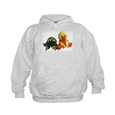 Frog and Ducky friends Hoodie