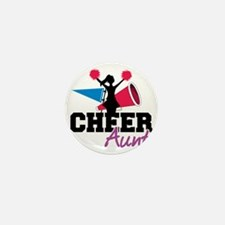 Cheer Aunt Mini Button