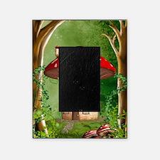 dl2_car_flag_713_H_F Picture Frame