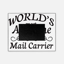 mail carrier Picture Frame