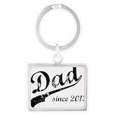 dad13 Landscape Keychain