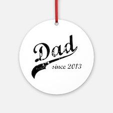 dad13 Round Ornament
