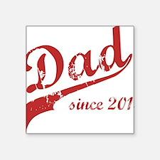 "dad132 Square Sticker 3"" x 3"""