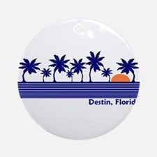 Destin, Florida Ornament (Round)
