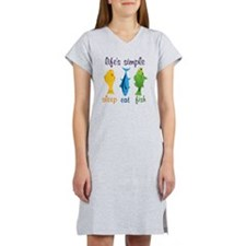 Lifes Simple Women's Nightshirt