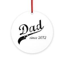 dad Round Ornament