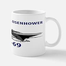USS DWIGHT D. EISENHOWER CVN-69 Mug
