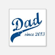 "dad133 Square Sticker 3"" x 3"""