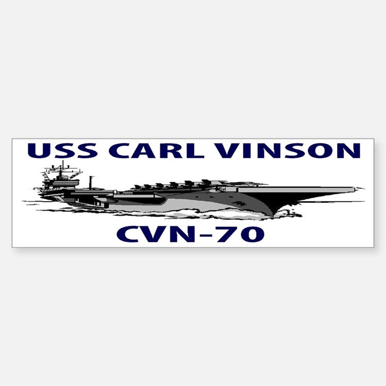 USS CARL VINSON CVN-70 Bumper Bumper Sticker