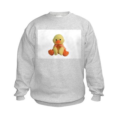 Plush Duck Kids Sweatshirt